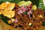 nasi goreng dengan minyak samin
